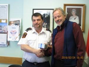 James Leeder 5 Yr. Service Award