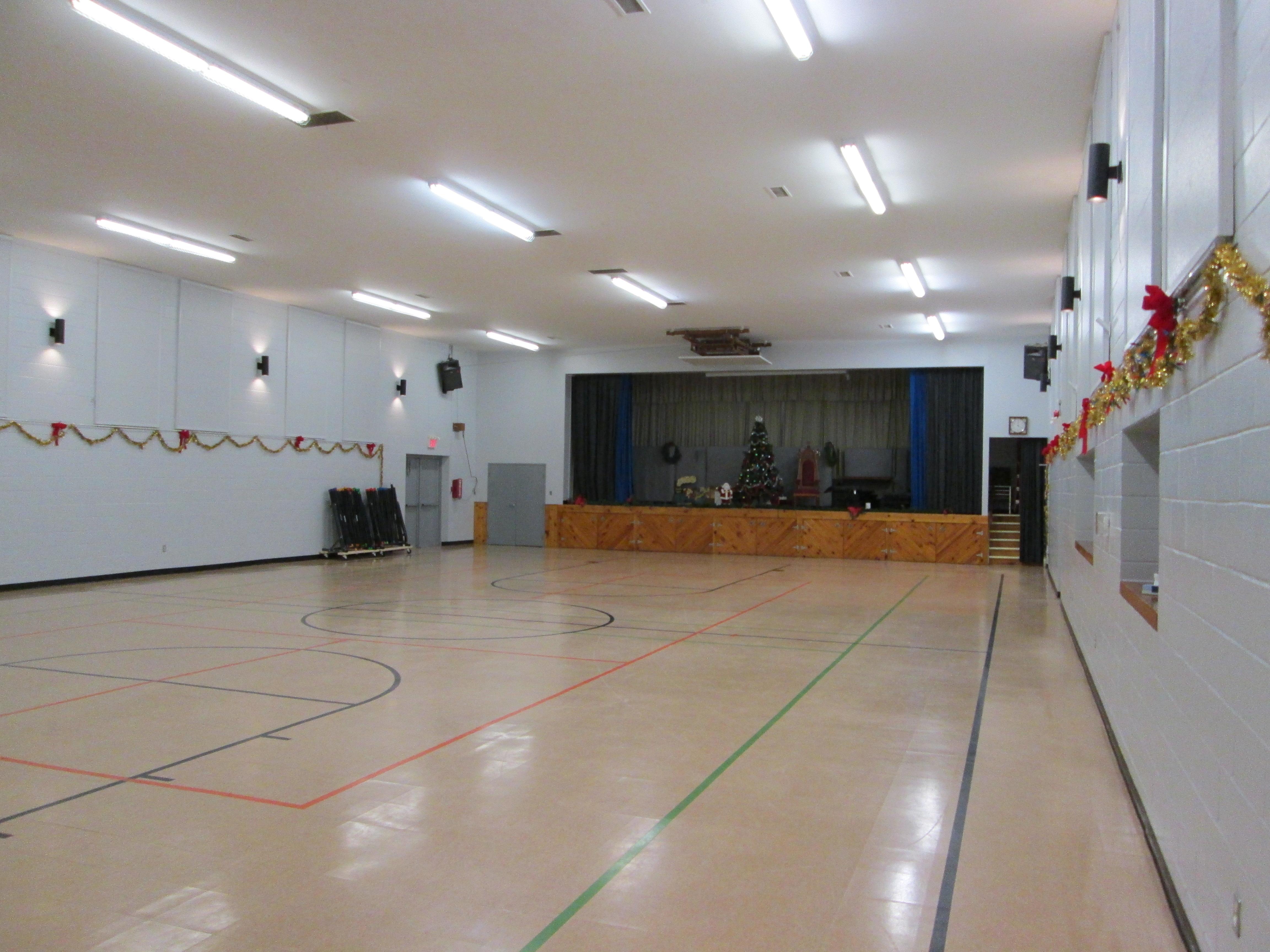 Gymnasium Stage View