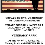 Veterans' Park Dedication