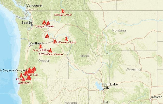 In the midst of the west coasts' ongoing wildfires, here are 5 ways to support wildfire relief efforts. Here S An Interactive Map Of All Current Fires And Emergency Info
