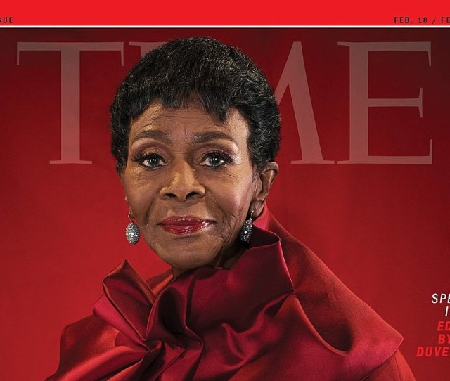 At Age  Cicely Tyson Graces The Cover Of Time Magazine