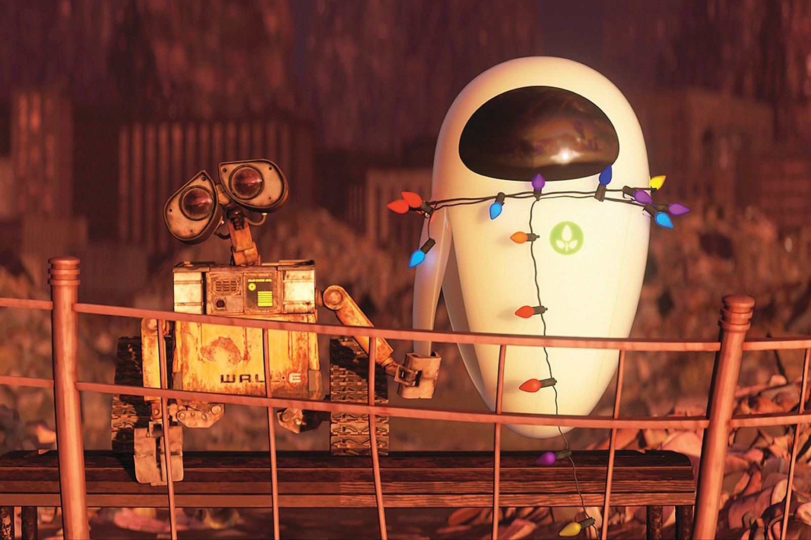 Image result for Wall-e helps eve