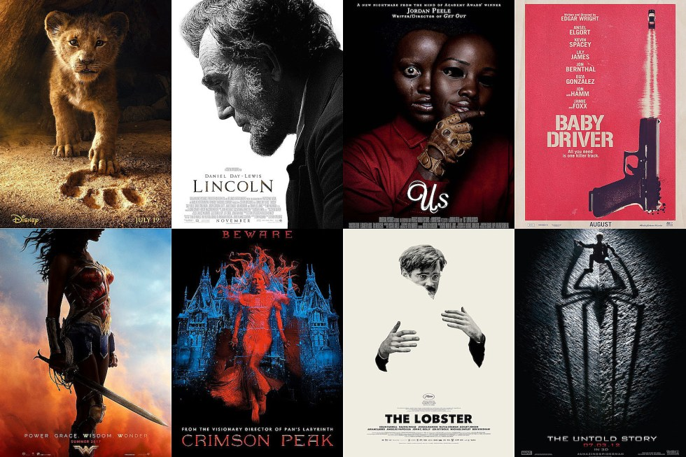 the best movie posters of the 2010s