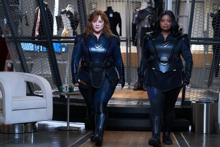 Fuerza Trueno Thunder Force Netflix Melissa McCarthy tráiler