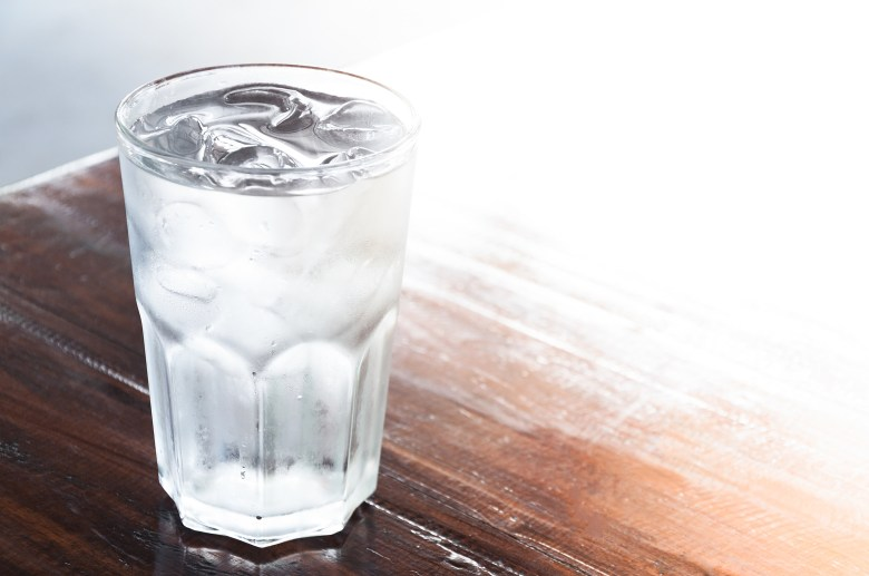 Reason You Shouldn't Drink Ice Water When It's So Dang Hot