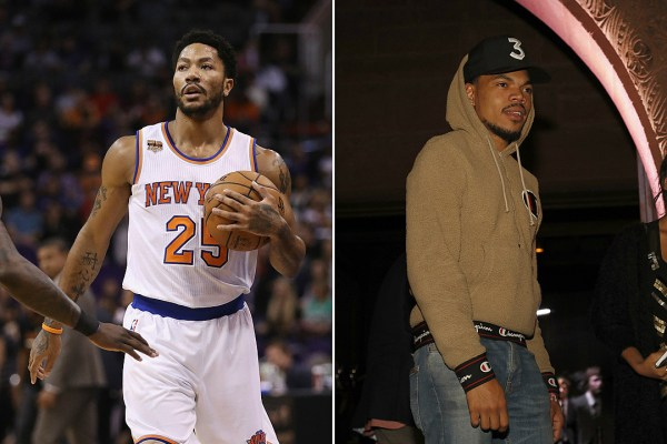 New York Knicks' Derrick Rose Praises Chance The Rapper's ...