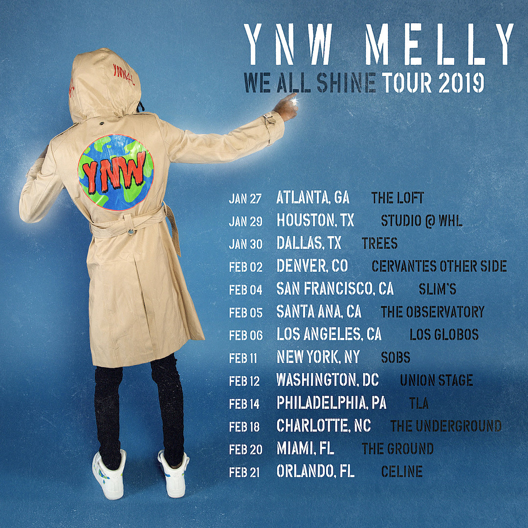 Image result for YNW Melly We All Shine Tour