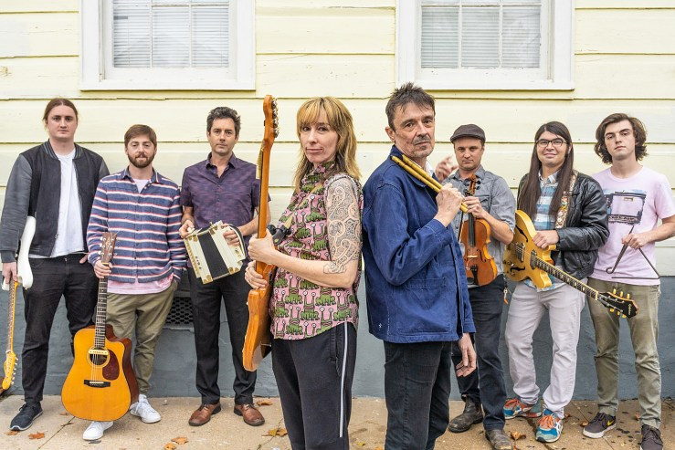 Pogues members Spider Stacy and Cait O'Riordan touring with Lost Bayou  Ramblers