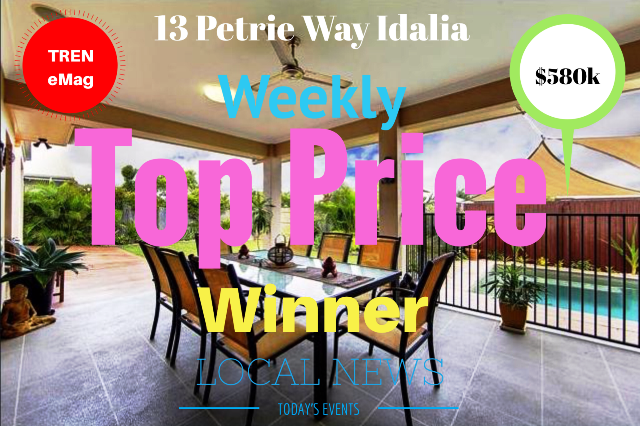 TREN eMag 13 Petrie Way Idalia Top Price Winner - Townsville