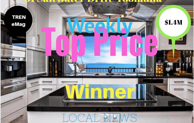 31 Saltwater Drive Toomulla North Ward Top Price Winner