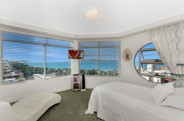 Bedroom views from 3-21 Cleveland Terrace North Ward Top Price Winner