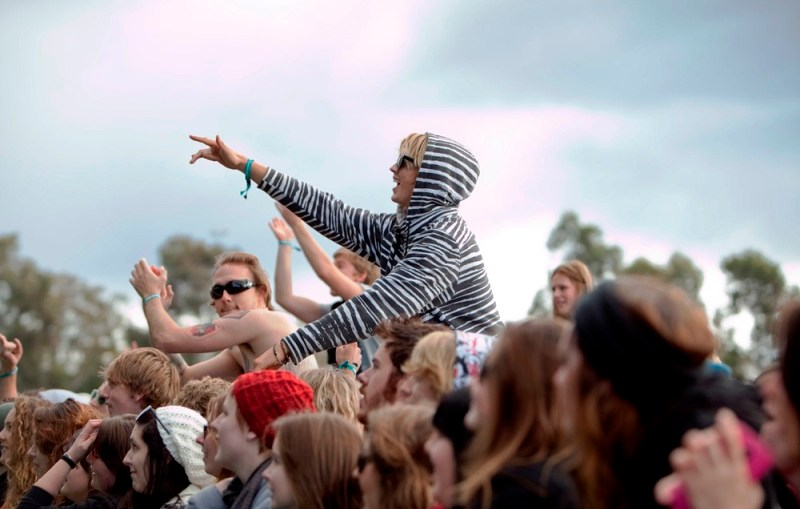Crime - Young at Groovin the Moo Concert as young crime and unemployment sparks political response