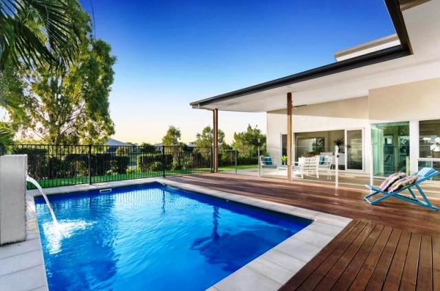 Idalia - Pool view of 8 Waterbury Terrace