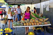Liveability - Shoppers at Cotters Market in the CBD of Townsville City North Queensland