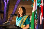 Councillors - Premier Annastasia Palaszczuk addressing Indian community