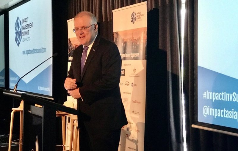 Social impact Investing - Federal Treasurer Scott Morrison announces the new National Housing Finance Corporation
