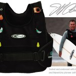 Quatic Jeff Clark Inflatable Surf Vest, Rashguard & Jacket