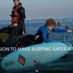 ONE MAN'S MISSION TO MAKE SURFING SAFER AT MAVERICKS