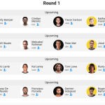 STACKED HEATS FOR ROUND 1 – PUERTO ESCONDIDO CHALLENGE