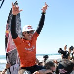 WORLD'S BEST SURFERS PREPARE FOR HURLEY PRO AT TRESTLES