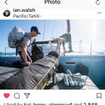 IAN WALSH AND CREW EMBARK ON A 2,400 NAUTICAL MILE SAILING VOYAGE