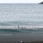 CLAIMING STUD IS DOUBLE SHARK ATTACK SURVIVOR