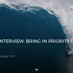 SHANE DORIAN INTERVIEW: BRING IN PRIORITY FOR BIG WAVE EVENTS