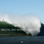 5 OF THE MOST BRUTAL BIG WAVE WIPEOUTS