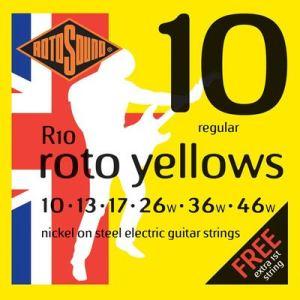 Rotosound R10 guitar strings