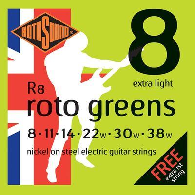 R8 guitar strings