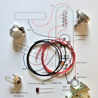 T-style guitar wiring