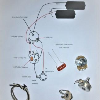 PBass wiring kit