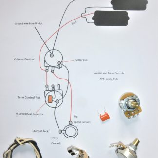 wiring kit for P bass