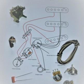 Strat wiring kit