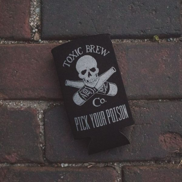 Toxic Can Coozie Brick