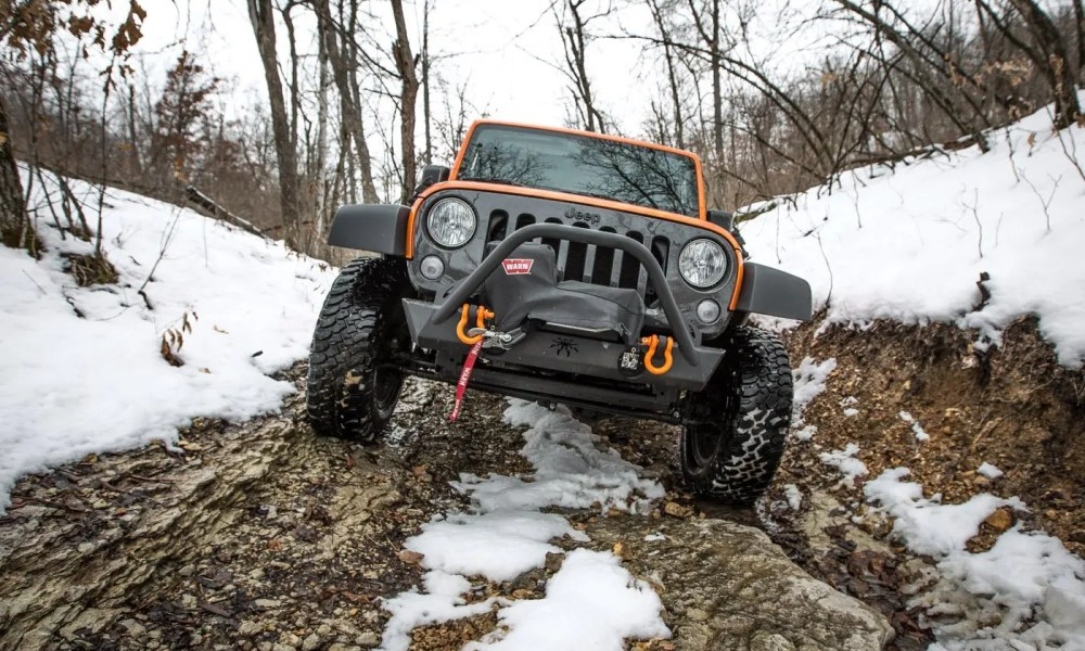 March 2013 SMORR Jeep Snow Run