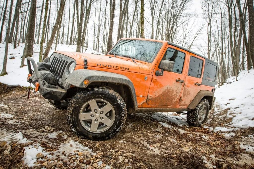 Dirty Jeep JK