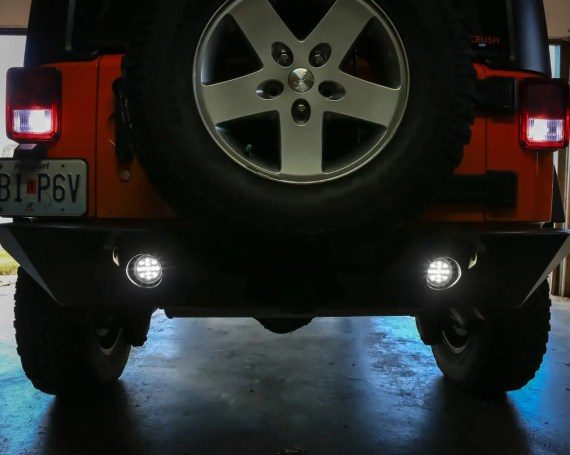 Recessed LED Back-Up Lamps (from Poison Spyder)
