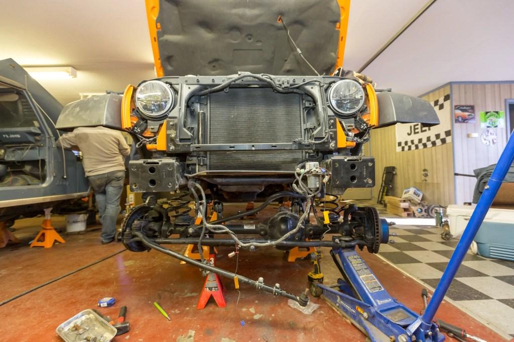 Currie Enterprises suspension system install