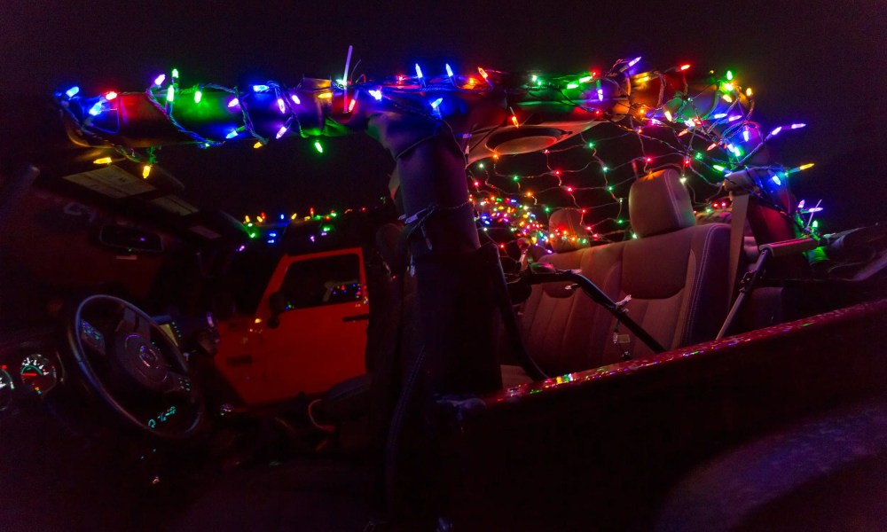 Jeep Cruise to Santa's Magical Kingdom