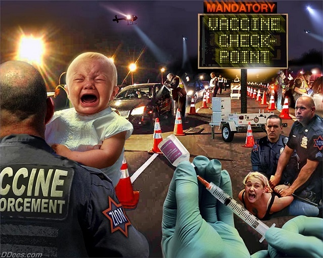 toxic now wake up america to armed military vaccine checkpoints