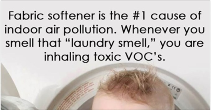 fabric softener air pollution