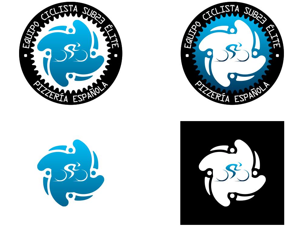 Rediseño logotipo Equipo Ciclista Pizzería Española - Sporting Pursuit