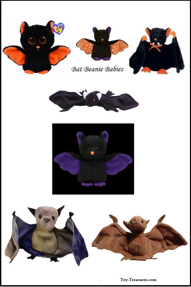 Bat Beanie Babies