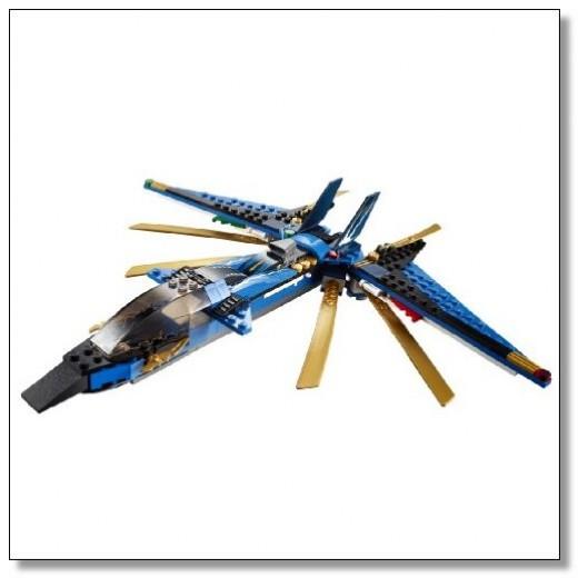 LEGO Ninjago Storm Fighter Plane