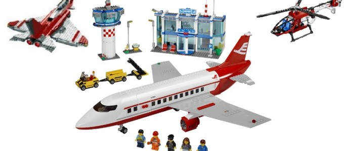 Lego Planes and Helicopters