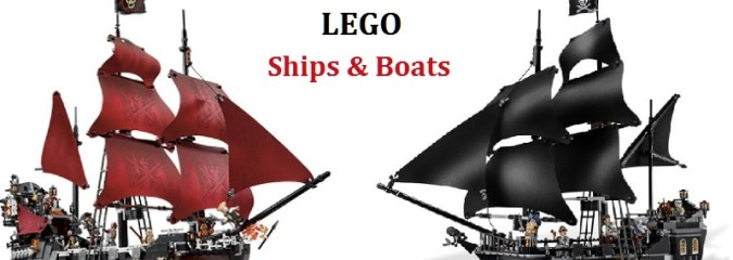 LEGO Ships and Boats