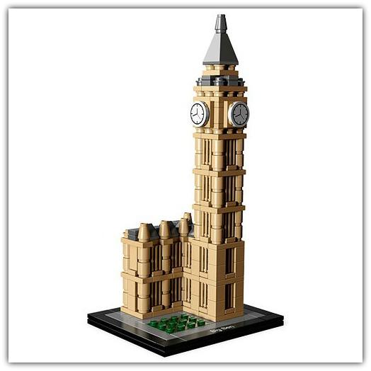 Big Ben Lego Architecture Set