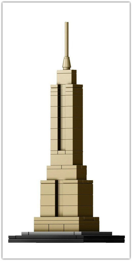 The Empire State Building Lego Architecture set