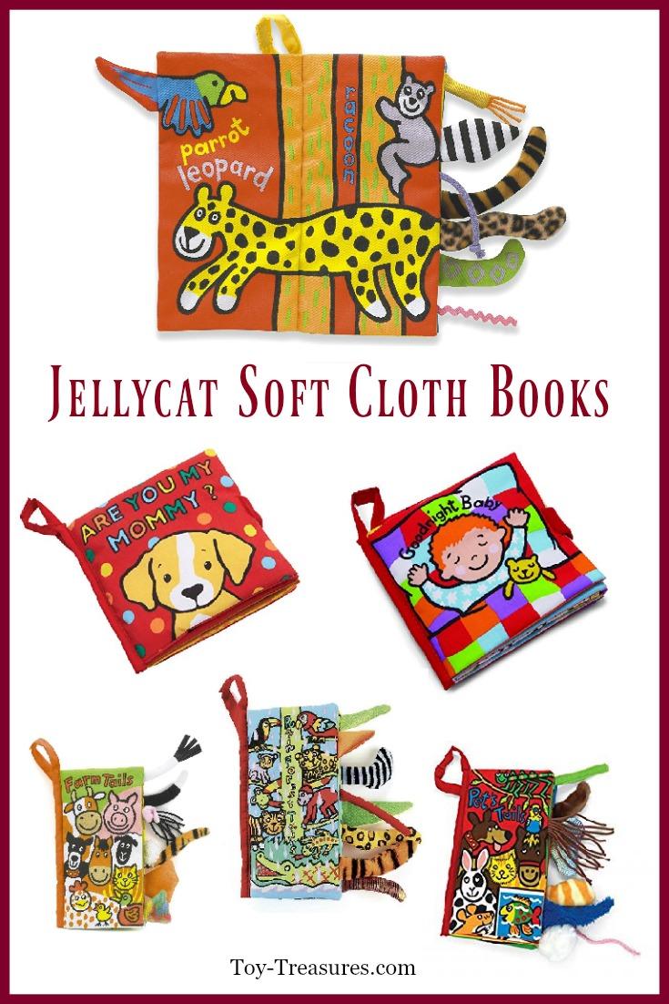 Jellycat soft books